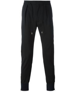 Paul Smith | Drawstring Track Pants 32 Spandex/Elastane/Wool
