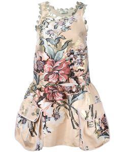 Fendi | Print Dress 40 Cotton/Polyester Fibre/Silk