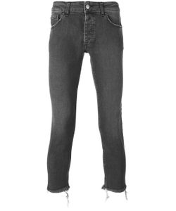 PALM ANGELS | Kill Cropped Jeans