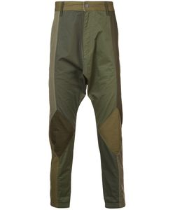 Mostly Heard Rarely Seen | Twill Drop Crotch Pants Men