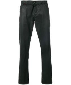 Tom Rebl   Skinny Waxed Jeans Men