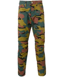 G-Star | Camouflage Print Trousers 32 Cotton/Polyester