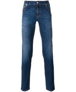 Ermanno Scervino | Stonewashed Slim-Fit Jeans