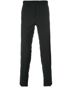 Diesel Black Gold | Elasticated Waistband Trousers 52 Polyester/Wool/Spandex/Elastane