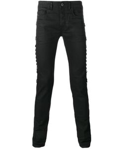 Diesel Black Gold | Side Strap Slim-Fit Jeans 33 Cotton/Polyester/Spandex/Elastane