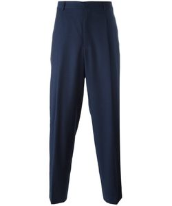 E. Tautz | Pleated Wide Leg Trousers 30 Wool/Viscose