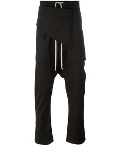 RICK OWENS DRKSHDW | Drop-Crotch Trousers