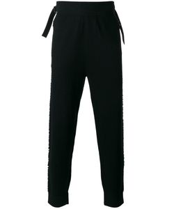 Helmut Lang | Drop-Crotch Fringe Panel Trousers