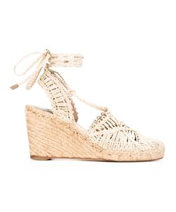 Paloma Barceló | Braided Wedge Espadrilles