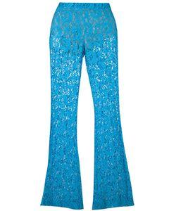 Moschino | Fla Lace Trousers 42 Polyamide/Polyester/Rayon