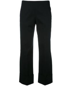 Fay | Cropped Wide Trousers 42 Cotton/Spandex/Elastane
