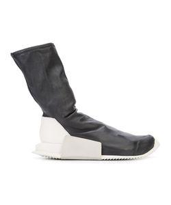 Rick Owens   Contrast Heel Sneakers
