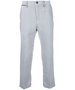 Sacai | Pinstripe Cropped Trousers Size 1