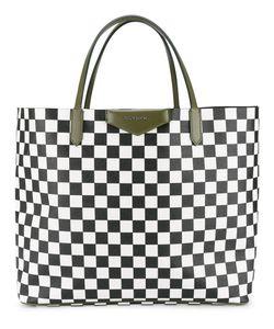 Givenchy | Large Antigona Check Shopper Cotton/Polyurethane/Polyester
