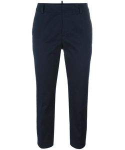 Dsquared2 | Slim Cropped Trousers 42 Polyester/Cotton/Spandex/Elastane