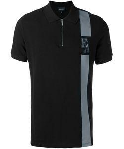 Emporio Armani   Zipped Polo Shirt Size Large