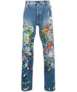 PALM ANGELS | Paint Splash Jeans