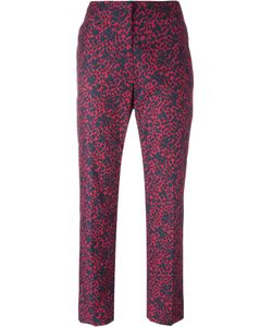 Sonia Rykiel | Patterned Tailo Trousers 40 Cotton