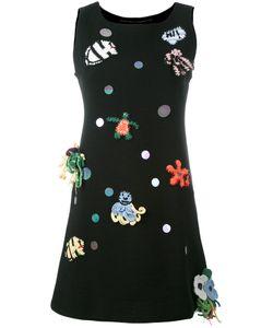 Michaela Buerger   Patches Mini Tank Dress Size Small