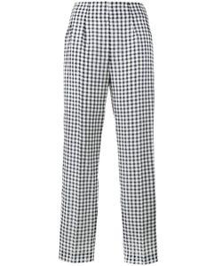 Emilia Wickstead | Arabella Gingham Trousers Size 8
