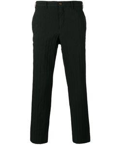COMME DES GARCONS HOMME PLUS | Comme Des Garçons Homme Plus Striped Cropped Trousers Size 4