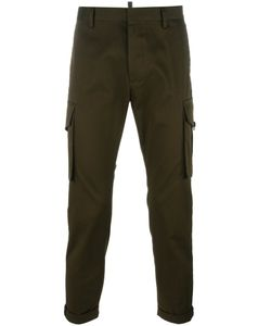 Dsquared2 | Cropped Cargo Pants 50 Cotton/Spandex/Elastane