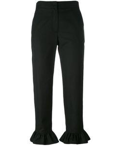 MSGM | Peplum Hem Cropped Trousers Size 38