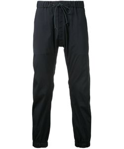 KAZUYUKI KUMAGAI | Drawstring Cropped Track Pants
