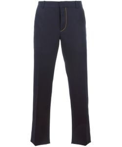 Alexander McQueen | Contrast Stitching Tailored Trousers