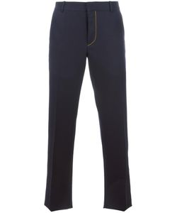 Alexander McQueen | Contrast Stitching Tailo Trousers 52 Wool/Acetate/Viscose