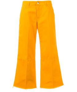 THE SEAFARER   Cropped Wide Leg Flares Size 25