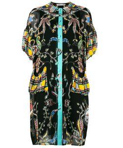 Tsumori Chisato | -Pattern Shift Dress Medium Cupro/Polyester