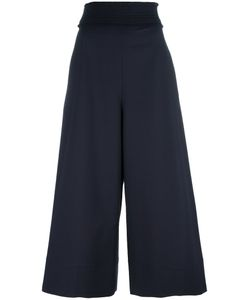 Cedric Charlier | Cédric Charlier High-Waisted Trousers 42 Cotton/Other Fibers