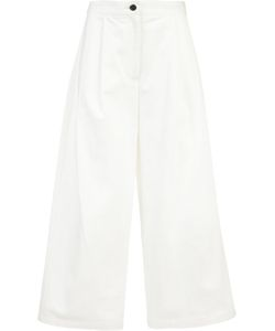 Adam Lippes | Cropped Trousers 6 Cotton