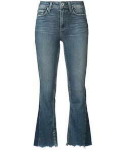 Paige | Fla Cropped Jeans 25 Cotton/Polyester/Spandex/Elastane