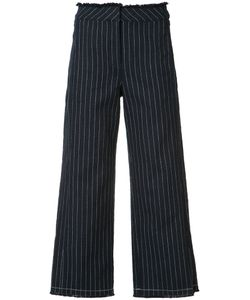 Alexander Wang | Cropped Pinstripe Trousers Size 4