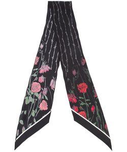 ROCKINS | Roses Printed Skinny Scarf