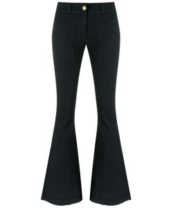Andrea Bogosian | Flared Denim Pants Size P