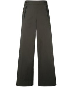 Sacai | Pleated Insert Trousers 2 Cotton/Polyester