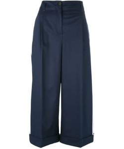 Semicouture | Side Stripe Cropped Trousers Size 42