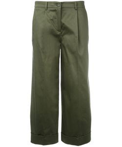 P.A.R.O.S.H. | P.A.R.O.S.H. Straight Cropped Trousers M