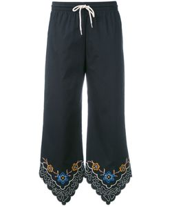 See By Chloe | See By Chloé Embroidered Cropped Trousers Size 38