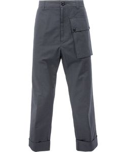 WOOSTER + LARDINI | Oversized Pocket Trousers