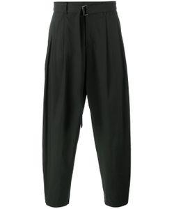 KAZUYUKI KUMAGAI | Buckle Waist Trousers