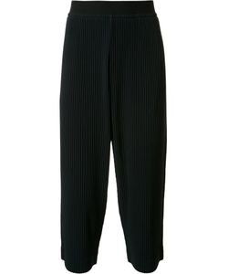 Issey Miyake | Pleated Cropped Trousers 2 Polyester
