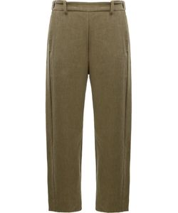 Ilaria Nistri | Slim-Fit Trousers 42 Linen/Flax/Viscose