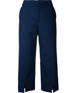 LE CIEL BLEU | Straight Cropped Pants 32 Wool