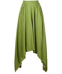 KITX   Ribbon Gathe Skirt 12 Linen/Flax/Lyocell