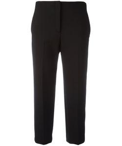 Theory | Cropped Cigarette Trousers 8 Polyester/Viscose/Spandex/Elastane/Polyurethane