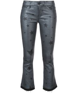 RTA   Cropped Flared Star Trousers Women